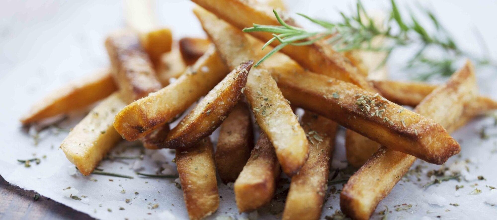 Kartoffelchips i stænger