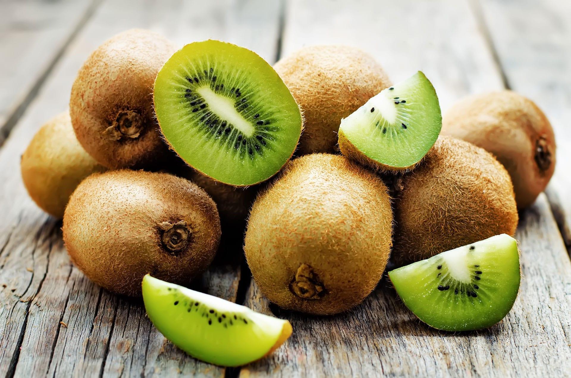 Kiwifrugt er sund spise