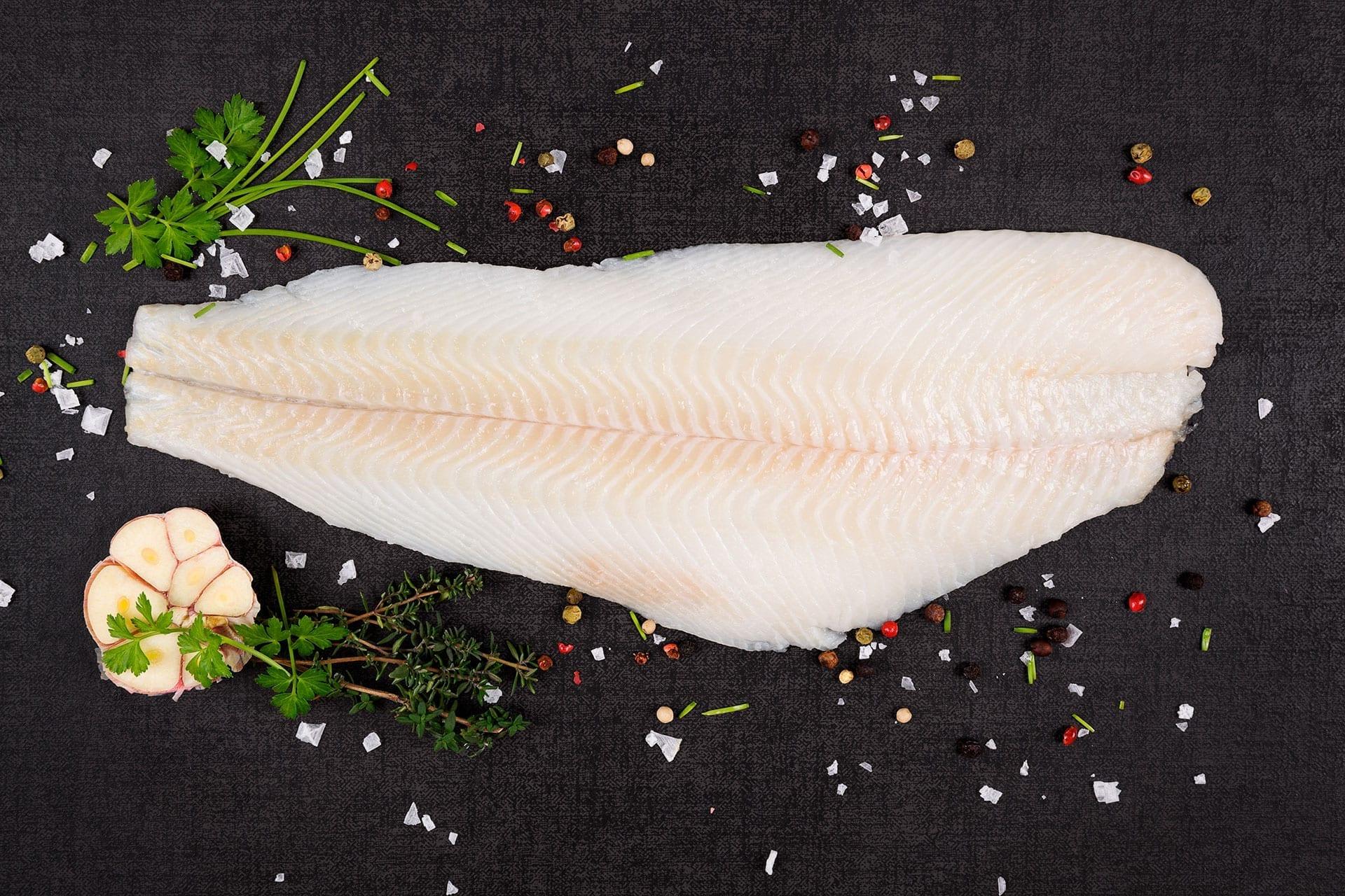 Hellefisk i soyalage