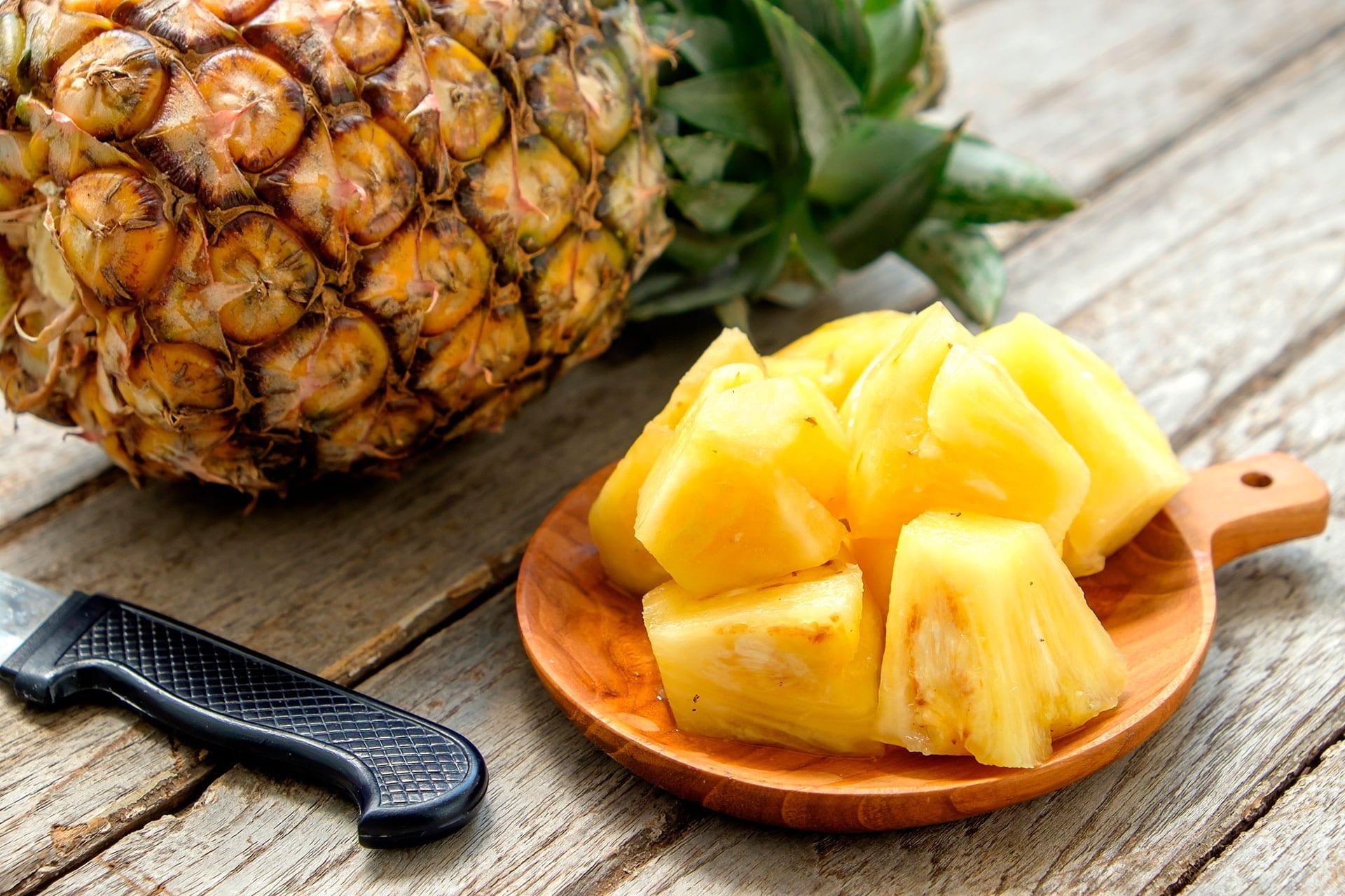 Konfekt med frugt
