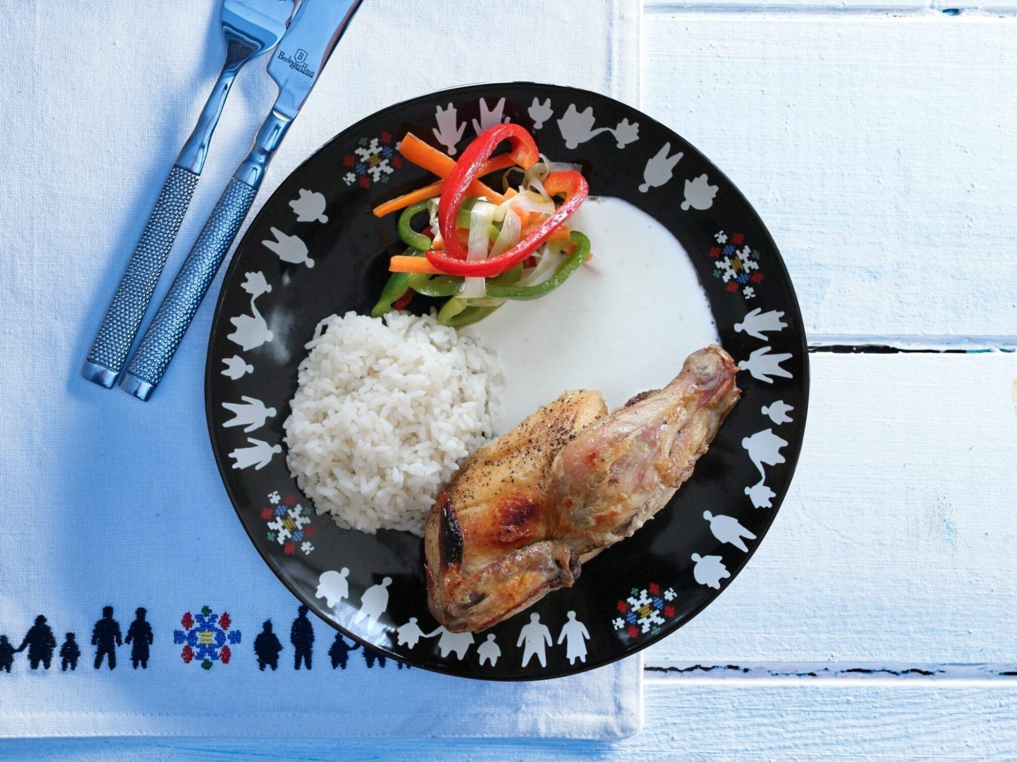 Mamarisavut kylling med yoghurtdressing