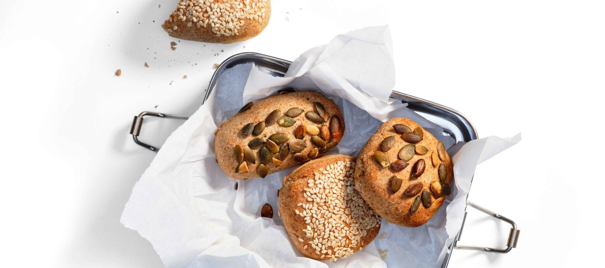 Minirugbrød til madpakken